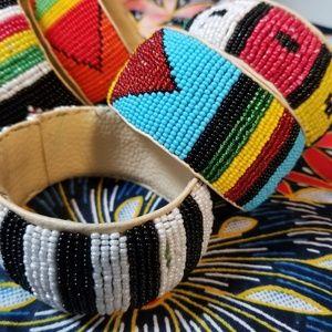 Jewelry - Hand beaded bracelets